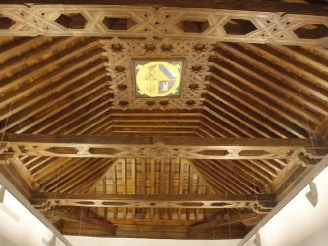 Limpieza y restauración de artesonados