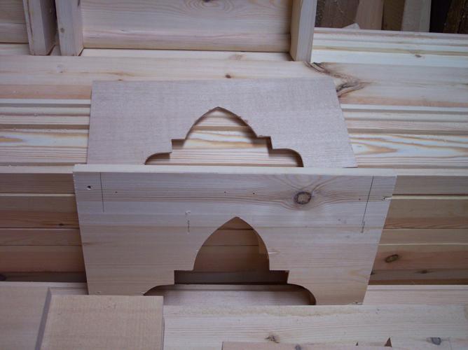 Armadura molinera nave lateral
