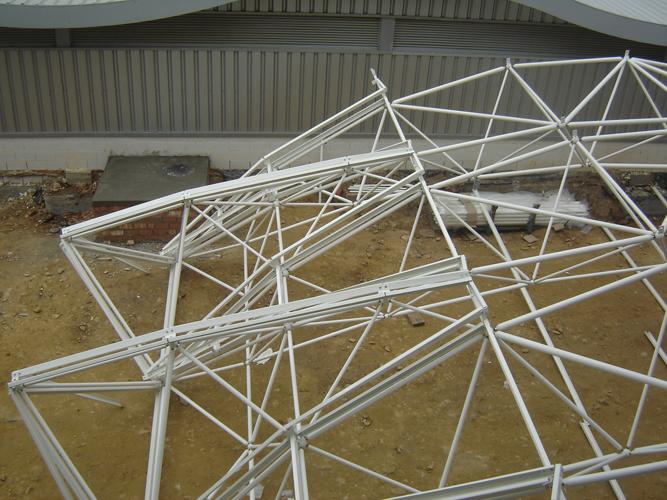 Recubrimiento de Estructura Metálica
