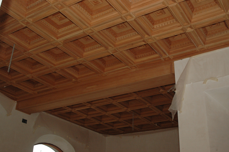 Cuadrados tallados renacentistas