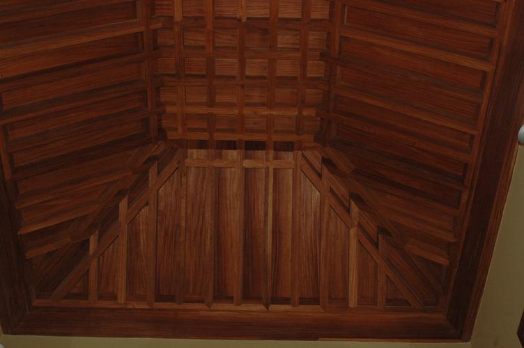 Artesonados del dormitorio principal
