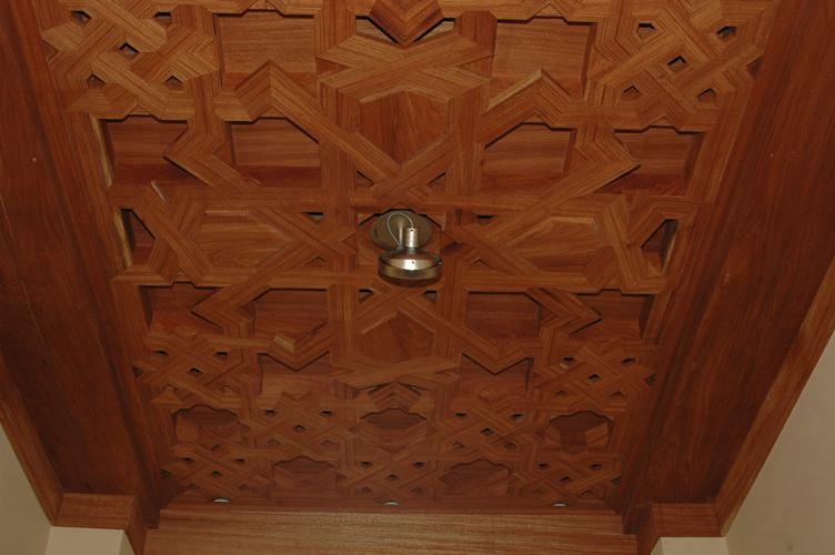 Alfarje del recibidor de lazo apeinazado