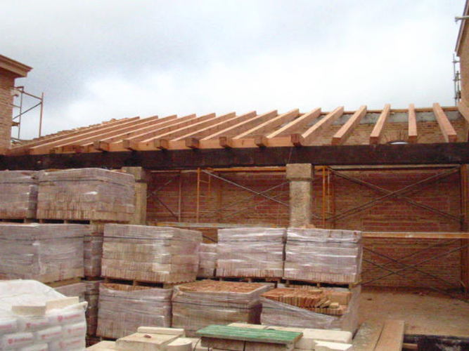 Construcción de Armaduras y Alfarjes