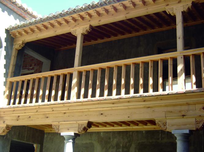 Galería del patio principal